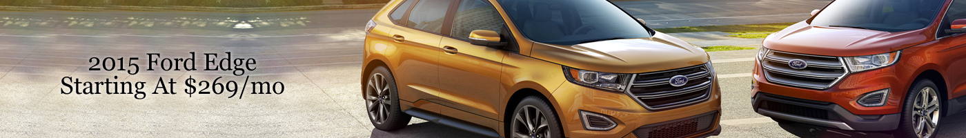 2015 Ford Edge Lease Special