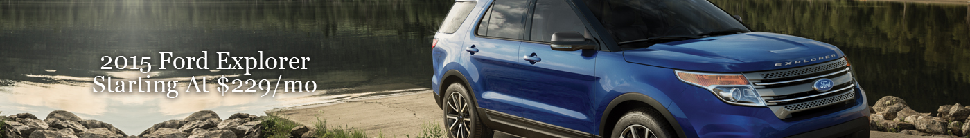 2015 Ford Explorer Lease Special