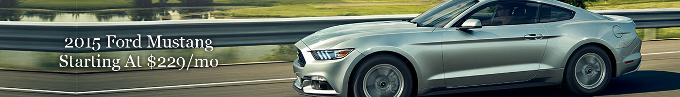 2015 Ford Mustang Lease Special